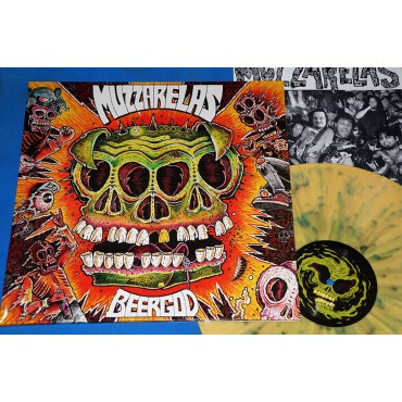 Muzzarelas - BeerGod - Lp Splatter - 2015 - Edição Limitada - Neves Records