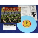 "Armada - Ditadura Assassina - 7"" Single 250 Copias - 2019 - Neves Records"