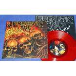 "Frenetic Trio - 1st - 10"" Vermelho - 2020 - Neves Records"