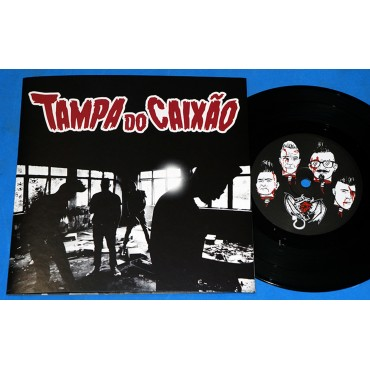 "Tampa Do Caixão - 7"" Single Numerado - 2018 - Neves Records"