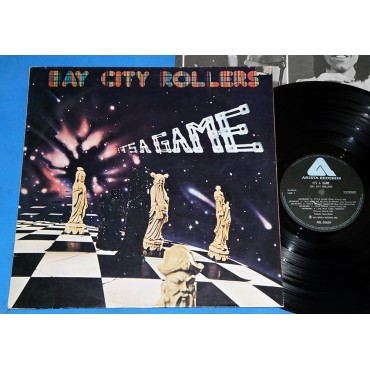 Bay City Rollers ‎- It's A Game - Lp - 1977