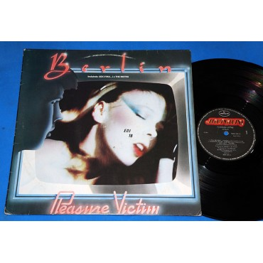 Berlin ‎- Pleasure Victim - Lp - 1983