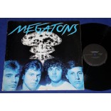 Megatons - Guerra Nuclear - Lp Single - 1989