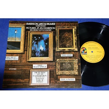 Emerson Lake & Palmer - Pictures At An Exhibition - Lp - 1972 - Brasil