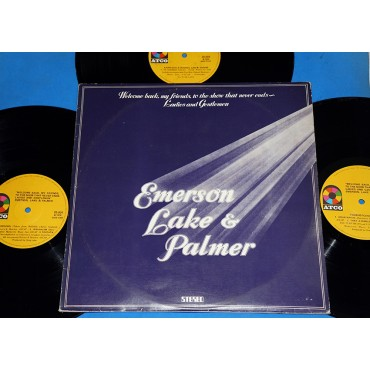 Emerson, Lake & Palmer - Welcome Back My Friends... - 3 Lps - 1976