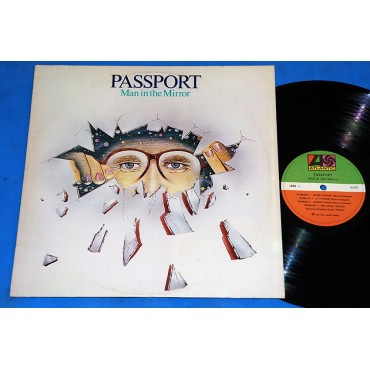 Passport - Man In The Mirror - Lp - 1983
