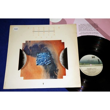 Patrick Moraz - Human Interface - Lp - 1987 - Brasil