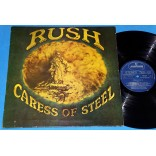 Rush - Caress of steel - Lp - 1975 - Capa dupla