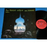 Psycho Attack Over Europe  2nd  - Lp - 1988 - Batmobile Blue Cats