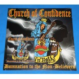 Church of Confidence - Damnation to the Non-Believers Lp + Cd 2015 - Alemanha