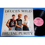 Deuces Wild - Brutal Purity - Lp - 1989 - UK