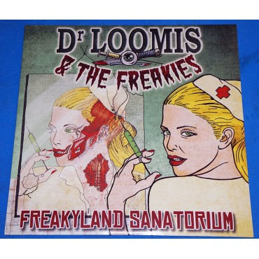Dr. Loomis & The Freakies ‎- Freakyland Sanatorium - Lp 2014 Lacrado