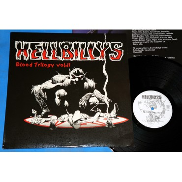 Hellbillys - Blood Trilogy Vol. II  - Lp - 2006 - França