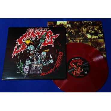 "Sick Sick Sinners - Bloody Heritage - 10"" Red - 2018 - Lacrado - Neves Records"