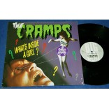 "The Cramps - What's Inside A Girl? - 12"" Single - 1986 - UK"