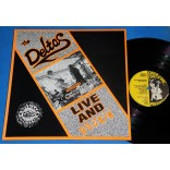 The Deltas - Live And Rockin' - Lp - 1989 - UK