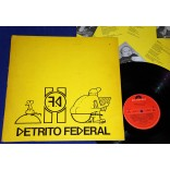 Detrito Federal - Vítimas Do Milagre - Lp - 1987 - Promocional