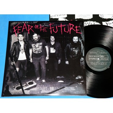 Fear Of The Future - 1° - Lp - 2016 - Brasil