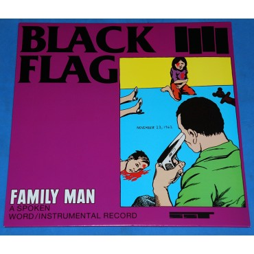 Black Flag - Family Man - Lp - USA - Lacrado
