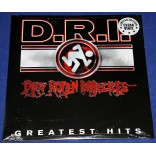 DRI - Greatest Hits - Lp Clear - 2015 - USA - Lacrado