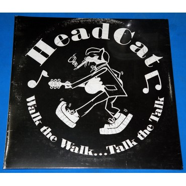 Headcat - Walk the walk...talk to talk - Lp - Alemanha - 2011 - Lacrado - Motorhead Stray Cats