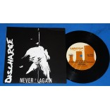 "Discharge - Never Again - 7"" Single - 2011 - USA"