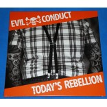 Evil Conduct - Today's Rebellion - Lp - 2014 - Alemanha - Lacrado