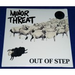 "Minor Threat - Out Of Step - 12"" EP - 2010 - USA - Fugazi - Lacrado"