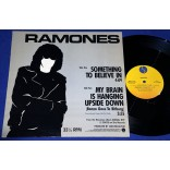 "Ramones - Something To Believe In - 12"" EP - 1986 - USA - Promocional"