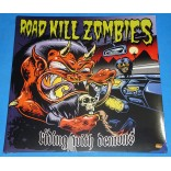 Road Kill Zombies - Riding With Demons - Lp - 2010 - Alemanha - Lacrado