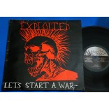 Exploited ‎-  Let's Start A War - Lp - 1983 - UK