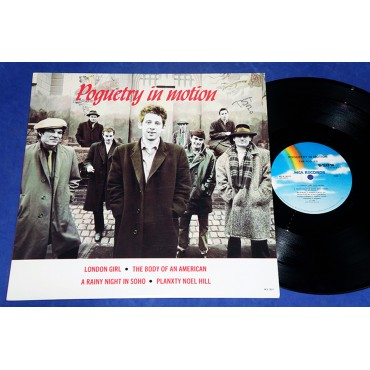 "The Pogues - Poguetry In Motion - 12"" Ep - 1986 - USA"