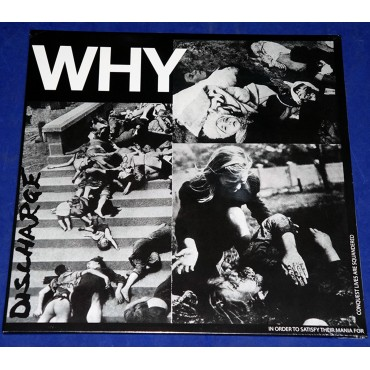 Discharge - Why - Lp Lacrado Italia 2018