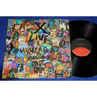 X - Live At The Whisky A Go-Go - Lp - 1989