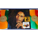 Bob Marley -  The Legend Live 3 Lps Coloridos 180g UK 2017 LACRADO Trojan