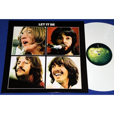 Beatles - Let It Be - Lp Branco - Brasil - Lacrado