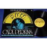 Carl Perkins ‎- The Sun Story Vol.3  - Lp - USA - 1977