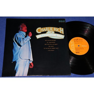 Charlie Rich - She Called Me Baby - Lp - USA - 1974