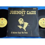 Johnny Cash ‎- A Believer Sings The Truth - Lp Duplo 1979 - USA