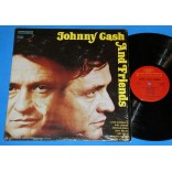 Johnny Cash ‎- Johnny Cash And Friends - Lp - 1972 - USA
