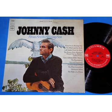 Johnny Cash - From Sea To Shining Sea - Lp - 1968 - USA