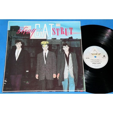 "Stray Cats - Stray Cat Strut - 12"" Single - 1983 - UK"