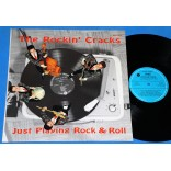 The Rockin' Cracks - Just Playing Rock & Roll - Lp - 1984 - Bélgica
