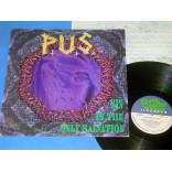 PUS - Sin is the only salvation - Lp 1994 - Brasil