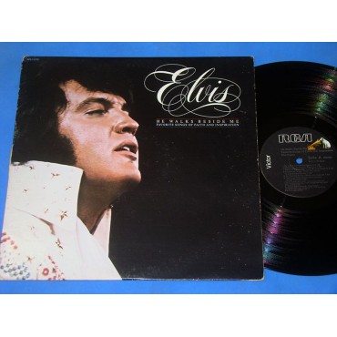 Elvis Presley - He Walks Beside Me - Lp - 1978 - USA