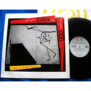 The J. Geils Band - You're Gettin' Even While I'm Gettin' Odd - Lp - 1984 - Brasil