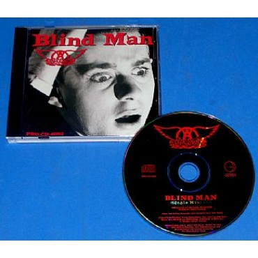 Aerosmith - Blind Man - Cd Promocional USA - 1994