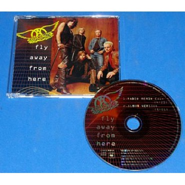 Aerosmith - Fly Away From Here - Cd Promocional Brasil - 2001
