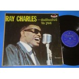Ray Charles - Dedicated To You - Lp - 1961 -  Brasil
