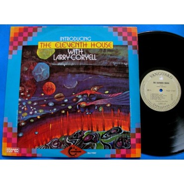 The Eleventh House with Larry Coryell - Introducing - Lp - 1974 - Nacional